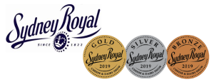 Sydney Royal with 3 medals 2019